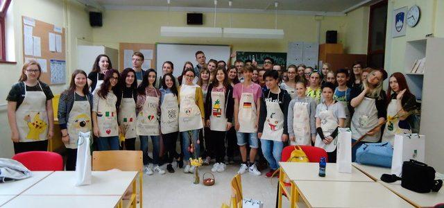 Delavnice za učence petih držav v sklopu projekta Erasmus +