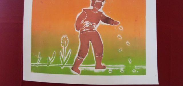 Likovni natečaj »Zrejlo je žito« v okviru prireditve Dobrote slovenskih kmetij