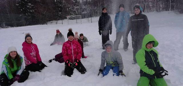 Utrinki z zimske šole v naravi